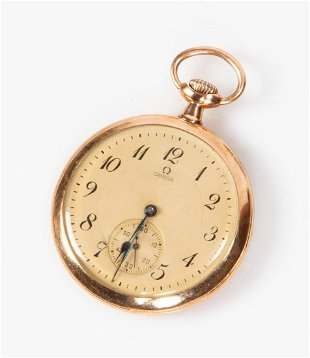 9015a5cd7acd 18K Gold Omega Pocket Watch 18K Gold Omega Pocket Watch