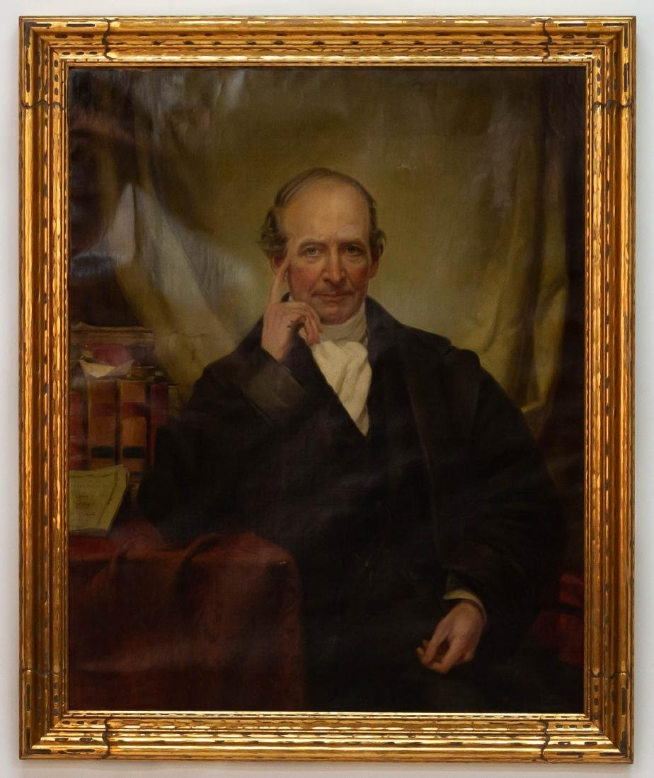 "Thomas Hicks (American, 1823-1890) ""Portrait of John"