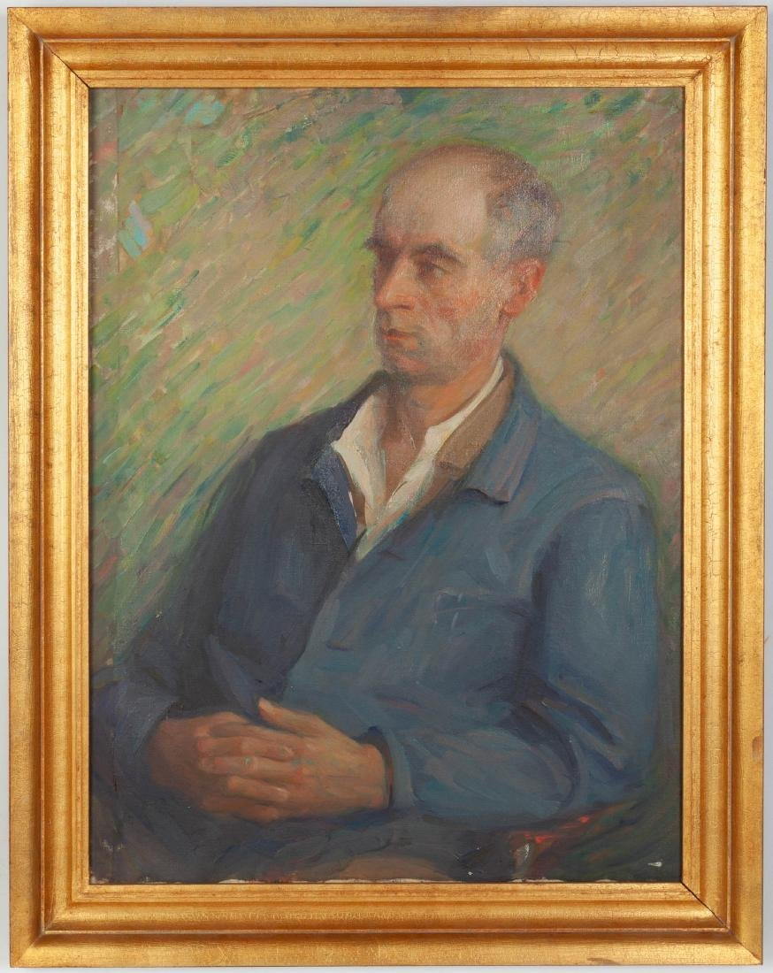 Jeanette Scott (American, 1864-1937) Portrait of a Man