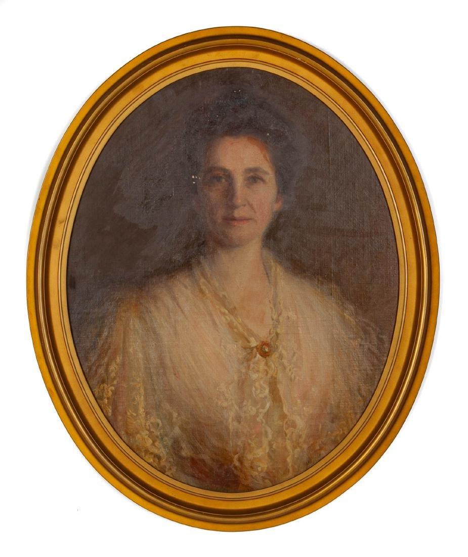 Jeanette Scott (American, 1864-1937) Portrait of Mrs.