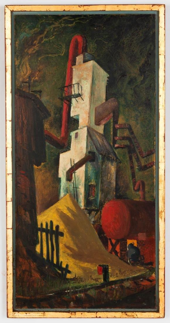 John C. Menihan (American, 1908-1992) Yellow Stuff