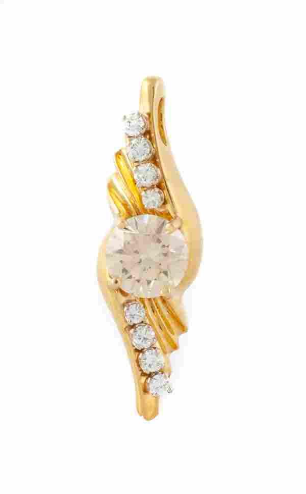 5 Carat Diamond Pendant