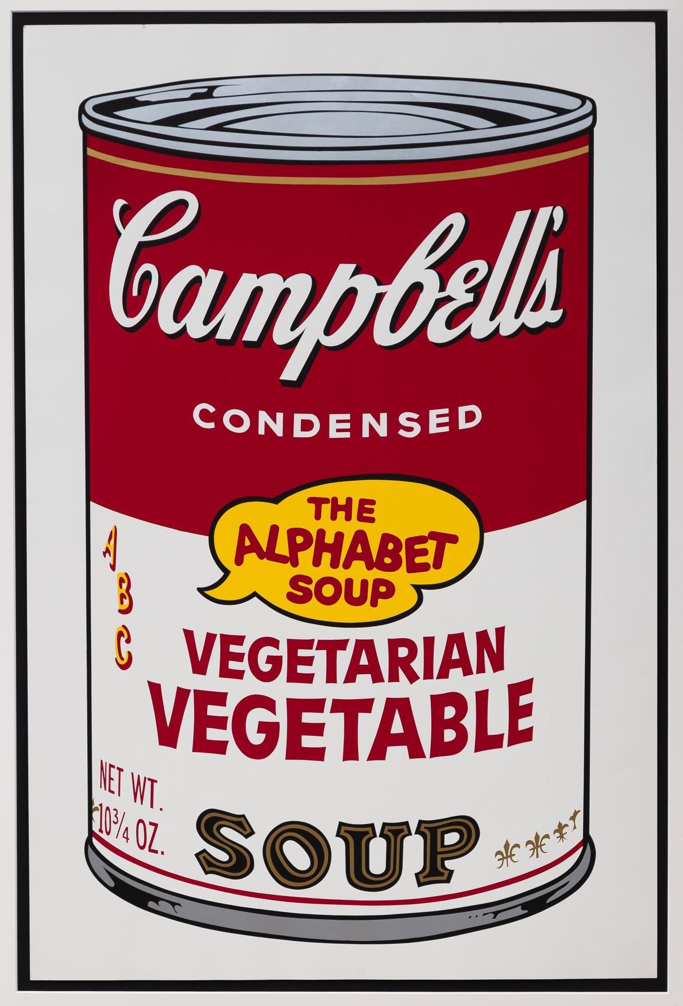 """Andy Warhol (American, 1928-1987) """"Vegetarian"""