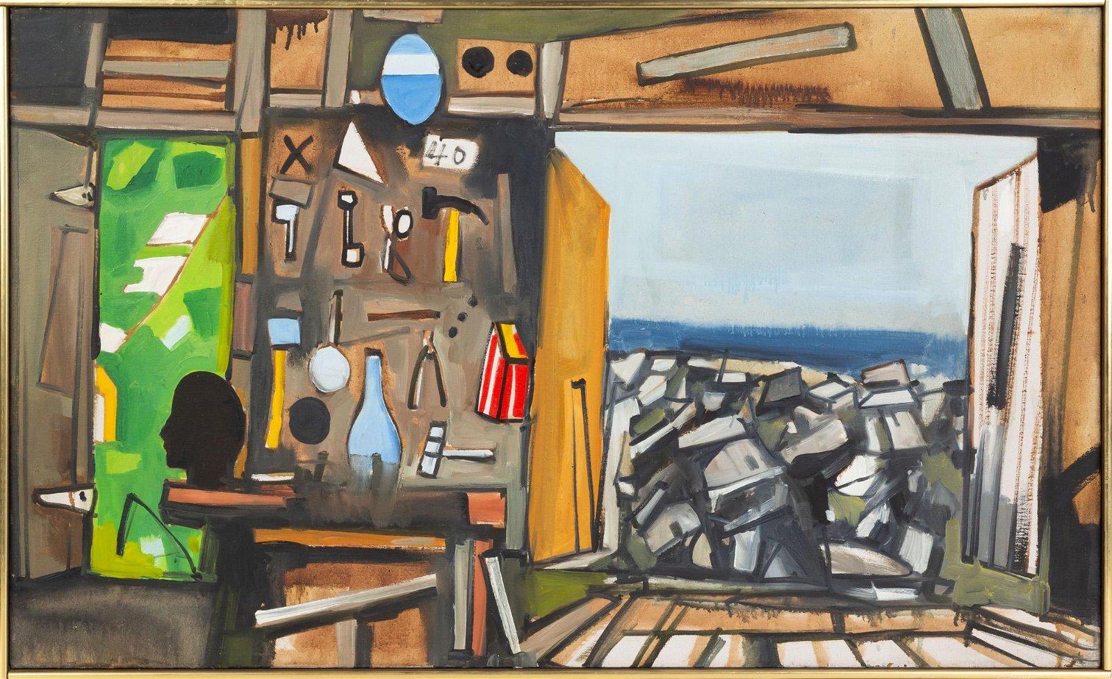John Hultberg (American, 1922-2005) Untitled