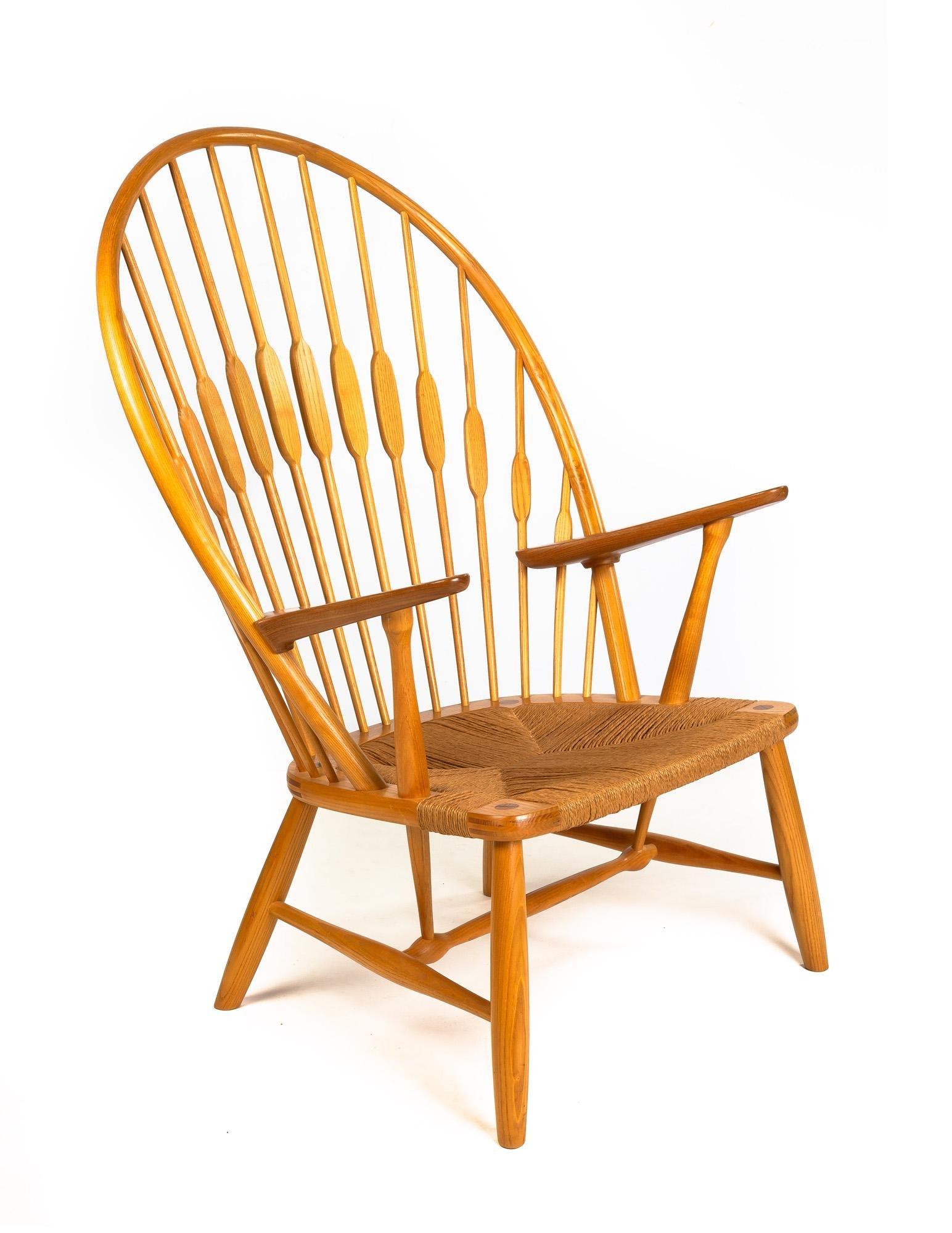 "Hans J. Wegner (Danish, 1914-2007) ""Peacock"" Chair"