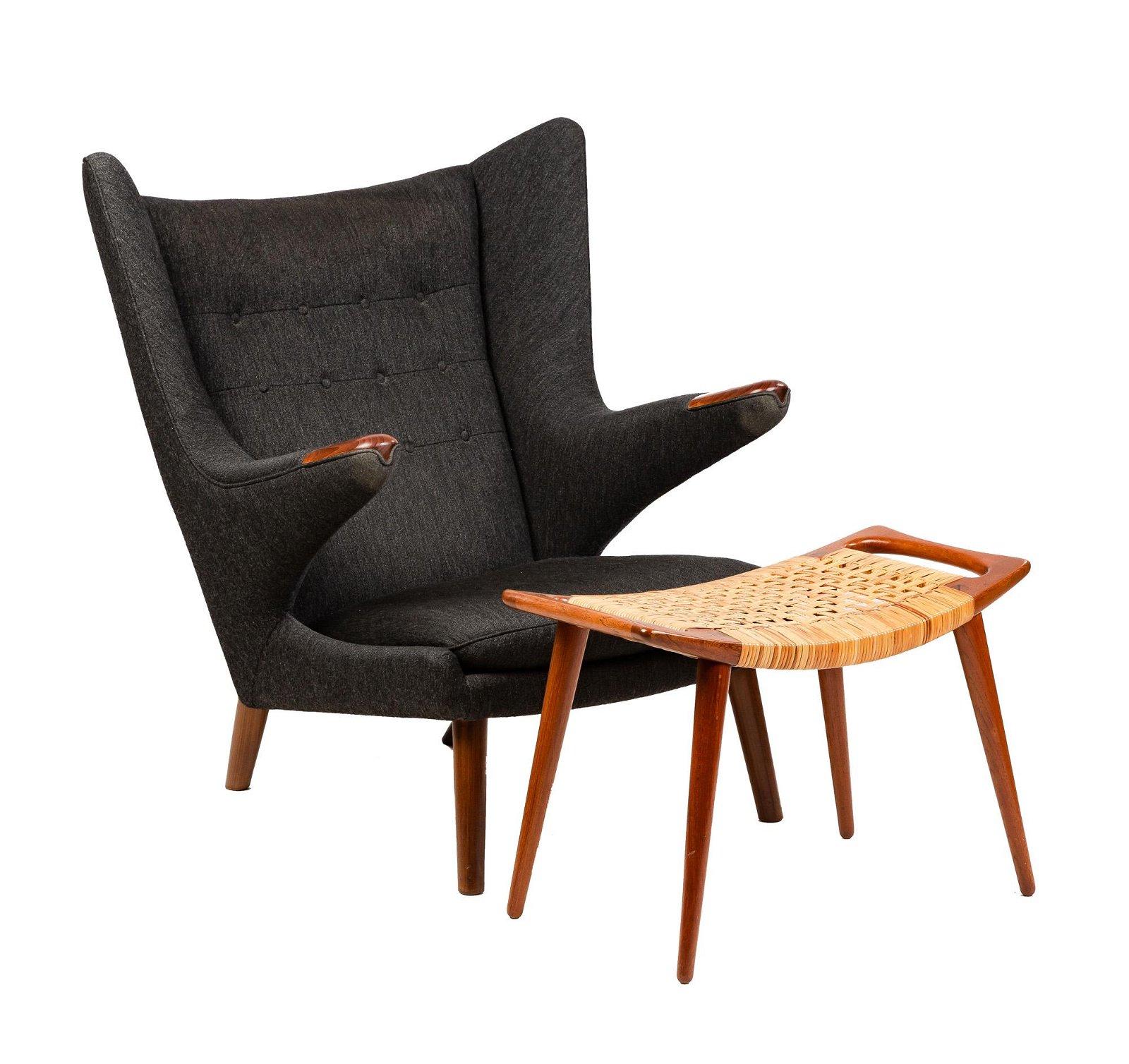 Hans J. Wegner (Danish, 1914-2007) Papa Bear Chair and