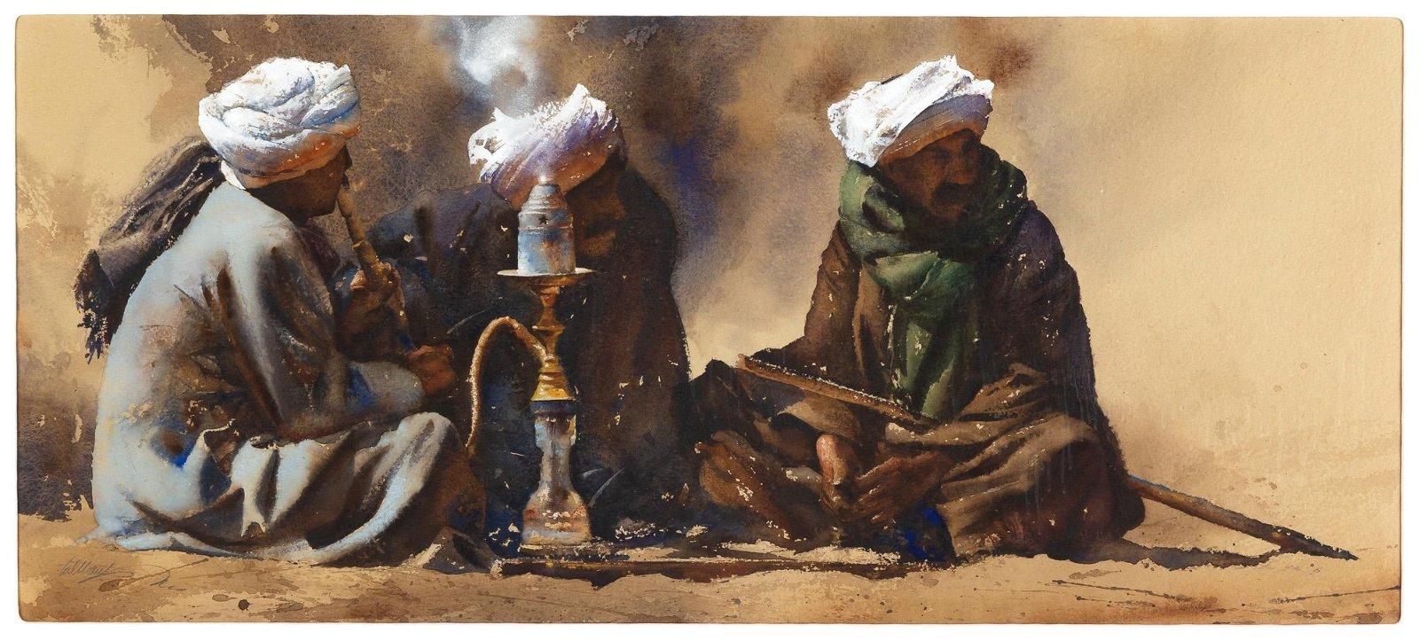 William Matthews (American, b. 1949) Middle Eastern