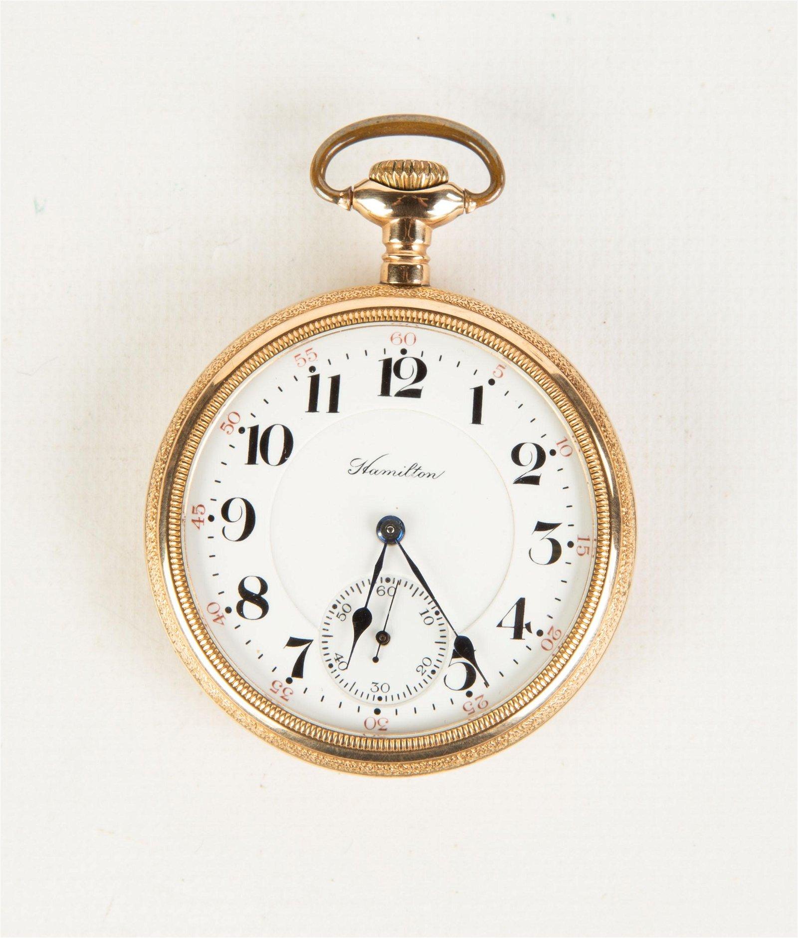 Hamilton 21 Jewel Pocket Watch