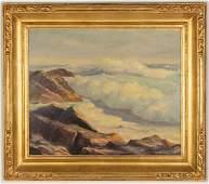 Emile Gruppe (American, 1896 - 1978) Seascape