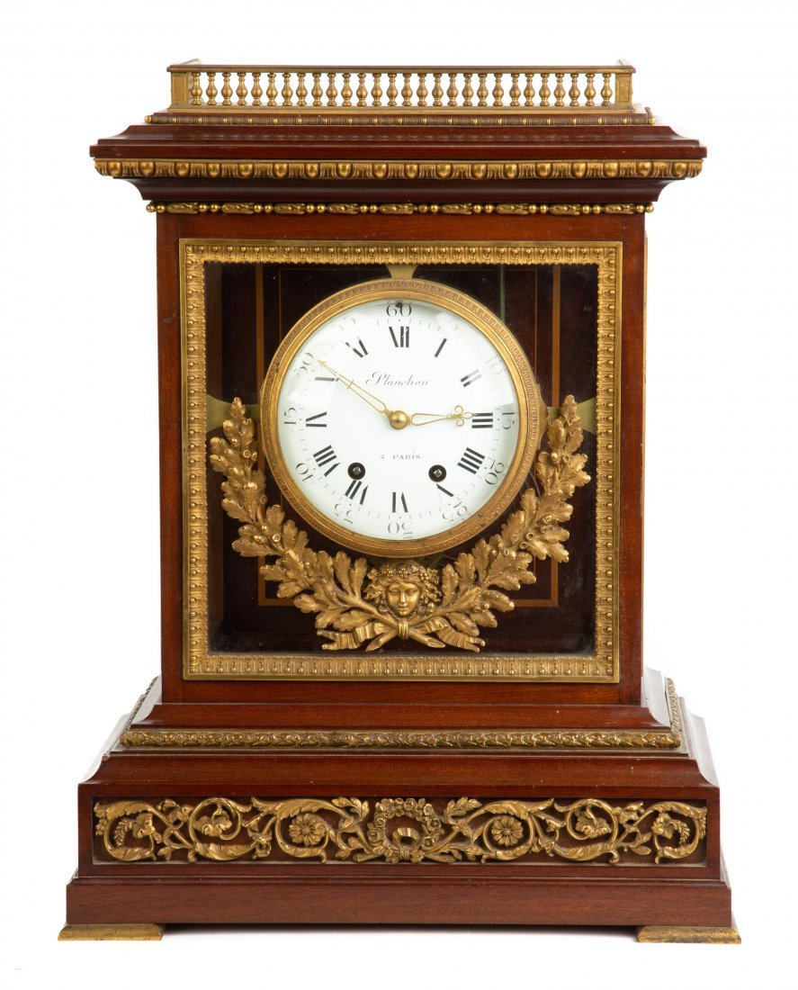 Fine French Shelf Clock by Planchon
