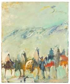 Earl Biss (American, 1947-1998)  Painting