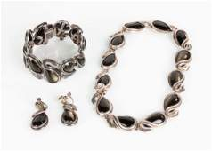 Antonio Pineda Jewelry Necklace and Bracelet