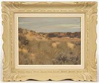 Edward Dufner American 18721957 The Dunes Oil on