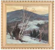 Emile A Gruppe American  18961978 Winter