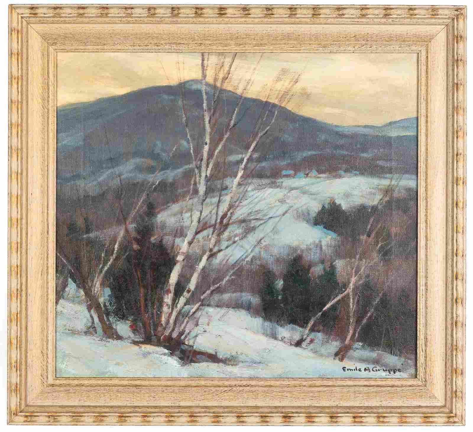 "Emile A. Gruppe (American,  1896-1978), ""Winter,"