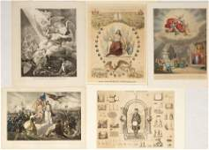 Group of Patriotic Lithographs & Prints