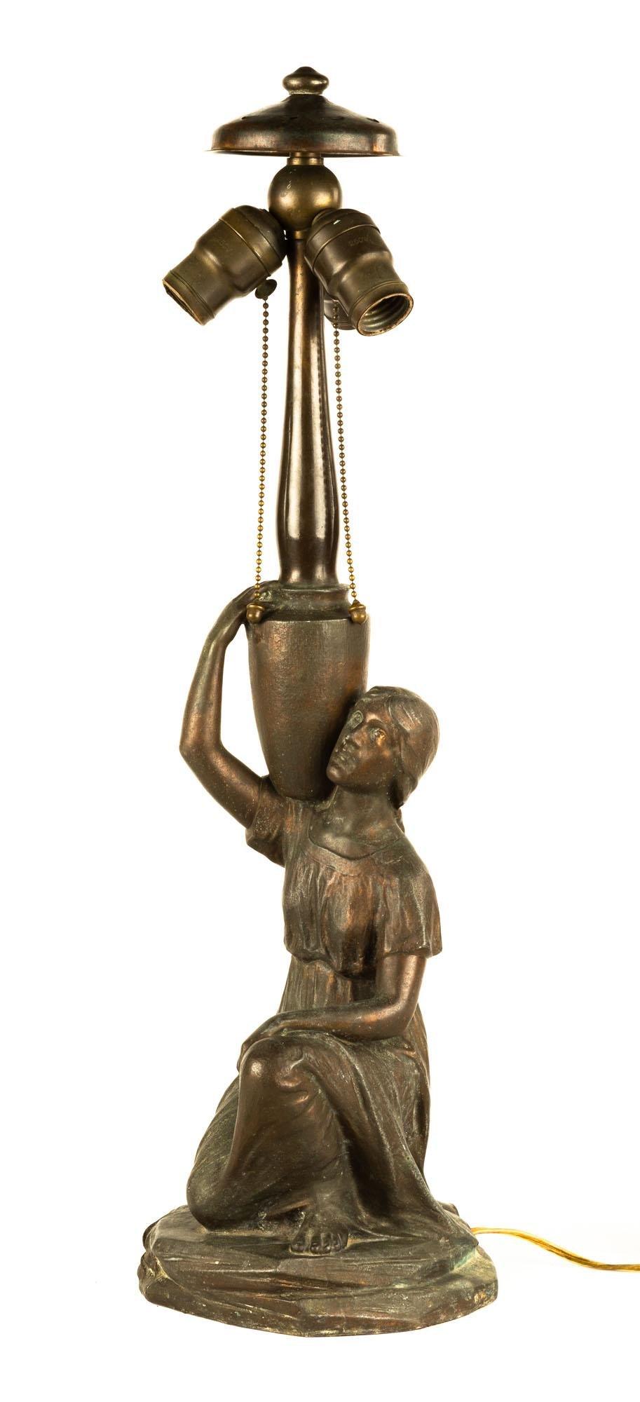 Handel Figural Lamp Base