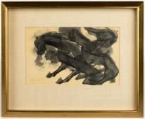 David Alfaro Siqueiros (Mexican, 1896-1974) Painting