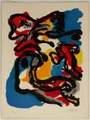 Karel Appel (Dutch, 1921 - 2006), Composition II