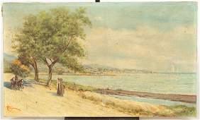 Three Oil on Canvas Paintings