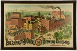 """The Eberhardt & Ober Brewing Company"" Lithograph"