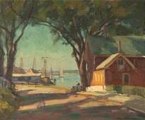 "Emile Gruppe (American, 1896-1978)  ""New England"