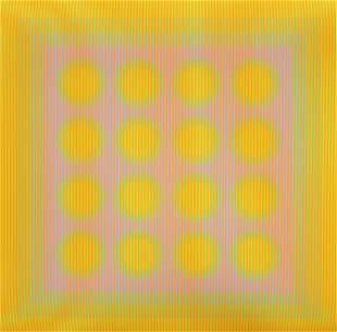 "Julian Stanczak (American, 1928-2017) ""Spinning"