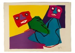 Karel Appel (Dutch, 1921 - 2006) Untitled