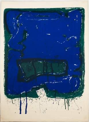 "Sam Francis (American, 1923-1994) ""Affiche Kunsthalle B"