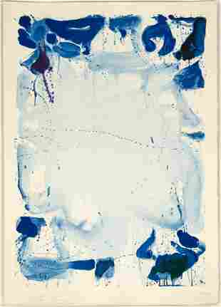 """Sam Francis (American, 1923-1994) """"Poster Without"""