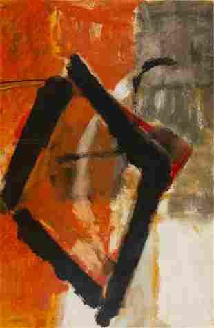 """Teruko Yokoi (Japanese, 1924-2020) """"No. 1"""""""