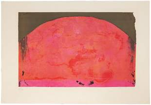 Antoni Tapies (Spanish, 1923-2012) Untitled