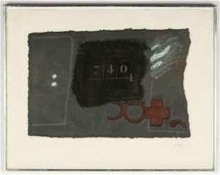 "Antoni Tapies (Spanish, 1923-2012) ""740"""