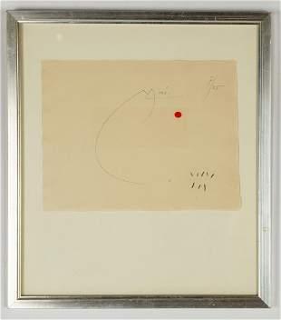 Joan Miró (Spanish, 1893-1983) Etching