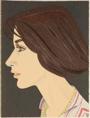 "Alex Katz (American, b. 1927) ""Susan"""