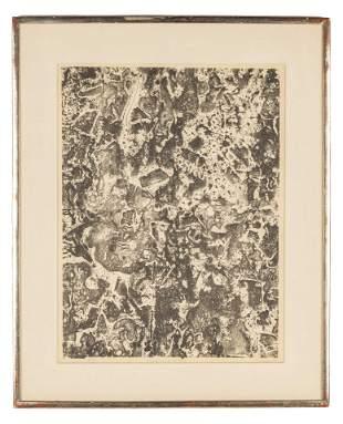 """Jean Dubuffet (French, 1901-1985) """"Les Fruits de la"""