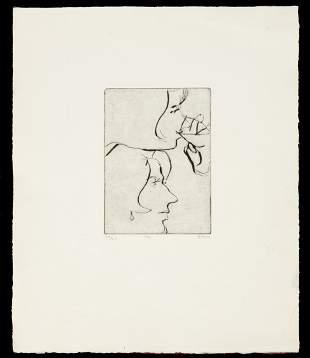 Richard Diebenkorn (American, 1922-1993) Etching