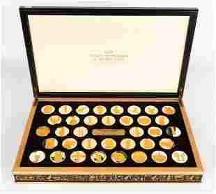 Golden Treasures of Ancient Egypt 36 Silver Coins