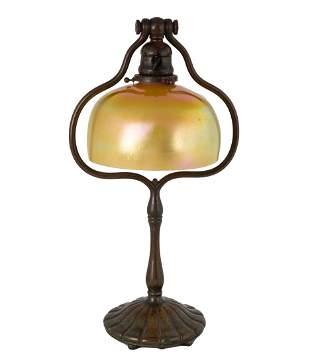 Tiffany Studios, New York Favrile Table Lamp