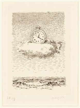 René Magritte (Belgian, 1898-1967) Untitled, plate IV
