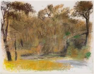 "Wolf Kahn (American/German, 1927-2020) ""Shrub Oak"