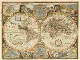 John Speed (1552-1629) A New and Accvrat Map of the