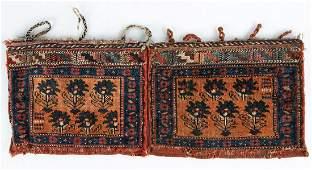 Diminutive Persian Bag Faces