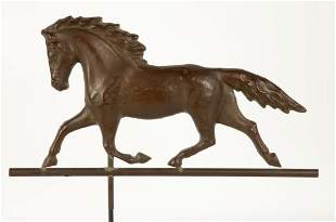 19th Century Running Horse Weather Vane