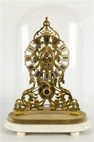 Evans Skeleton Clock
