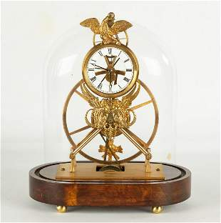 After Norman Langmaid Austrian Skeleton Clock