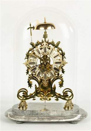 English Skeleton Clock