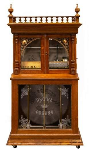 Regina Changer Upright Music Box