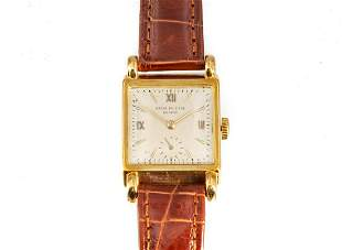 18K Gold Patek Philippe Wristwatch