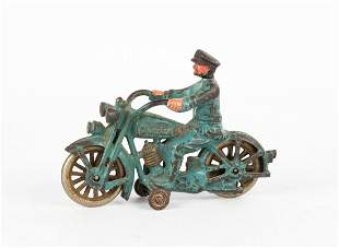 Cast Iron Harley Davidson Motorcycle